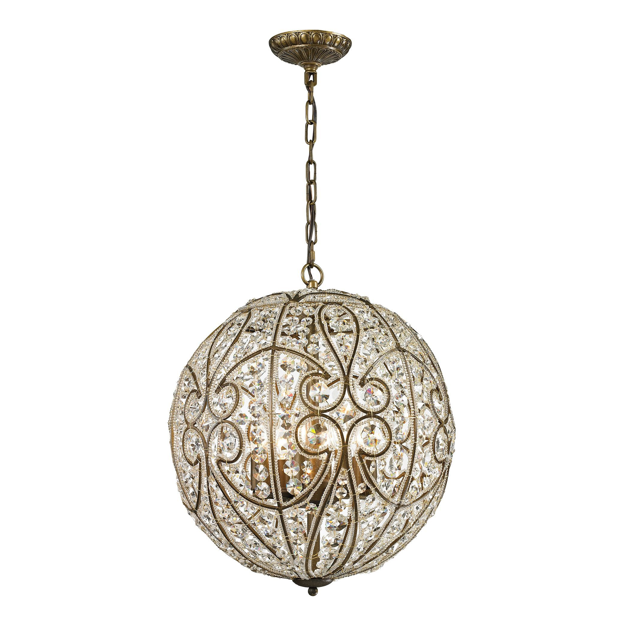 Elk lighting elizabethan aged bronze and crystal 8 light pendant by elk lighting elizabethan aged bronze and crystal 8 light pendant by elk lighting arubaitofo Images