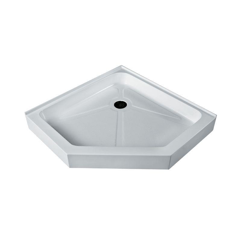 Vigo Vg0606942 42 X 42 Neo Angle Shower Tray White White Showers