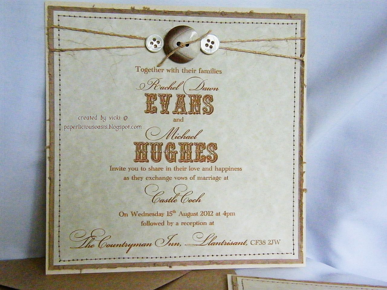 Beautiful Rustic Wedding Invitation Wording With Thanks For Popping By Take Care And Enjoy The Rest Of Your Weekend In Invitations: Thanks Wedding Invitation Ideas At Websimilar.org