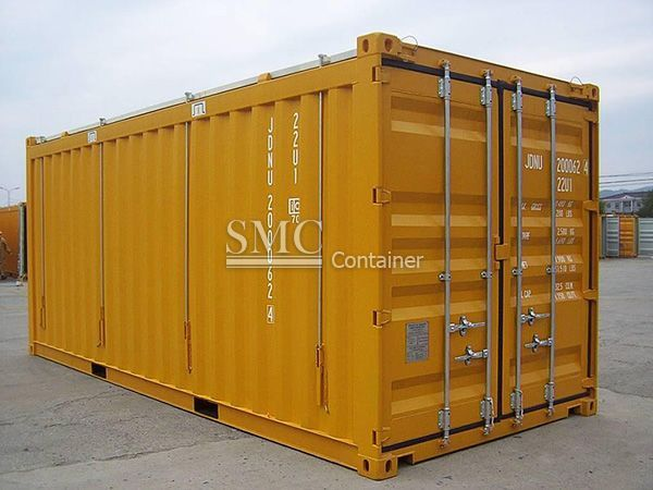 20 Feet Hard Top Open Top Container Shanghai Metal Corporation Container Outdoor Decor Locker Storage Open Top