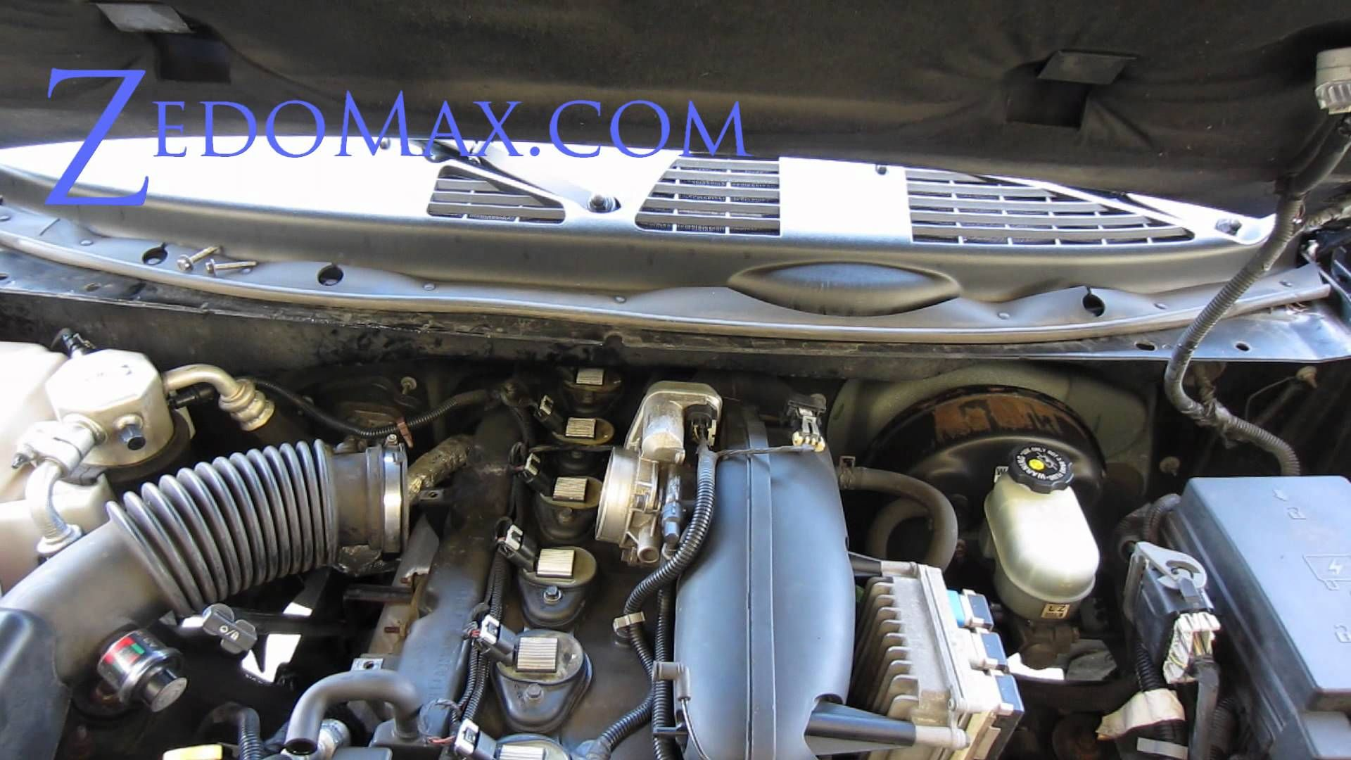 how to replace ignition coil spark plugs on chevy trailblazer  [ 1920 x 1080 Pixel ]