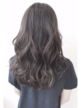 学校 仕事もok 暗めアッシュのヘアカラーカタログ 2017髪色画像 Sac