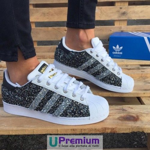 scarpe adidas superstar glitterate