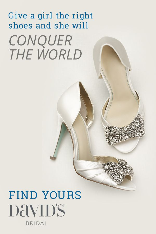 6313d59e7f4b Find the perfect pair of shoes at David s Bridal for the big day and beyond