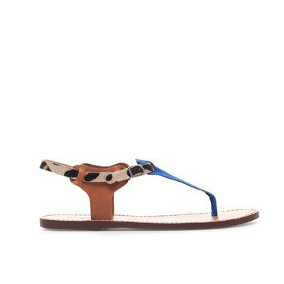 LEOPARD PRINT PRINT PRINT SANDAL Zapatos Woman ZARA Finland WANT 594962