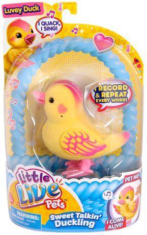 Little Live Pets Luvey Duck Pet Toy Little Live Pets Pet Toys Pets