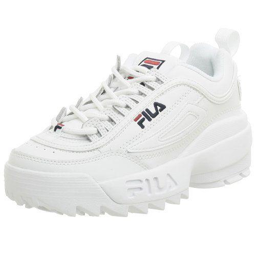 Fila Youth Disruptor II Sneaker,White