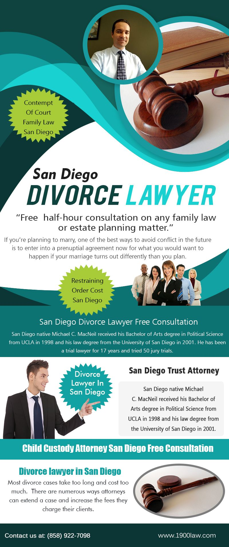 San Diego Divorce Lawyer Free Consultation that usually