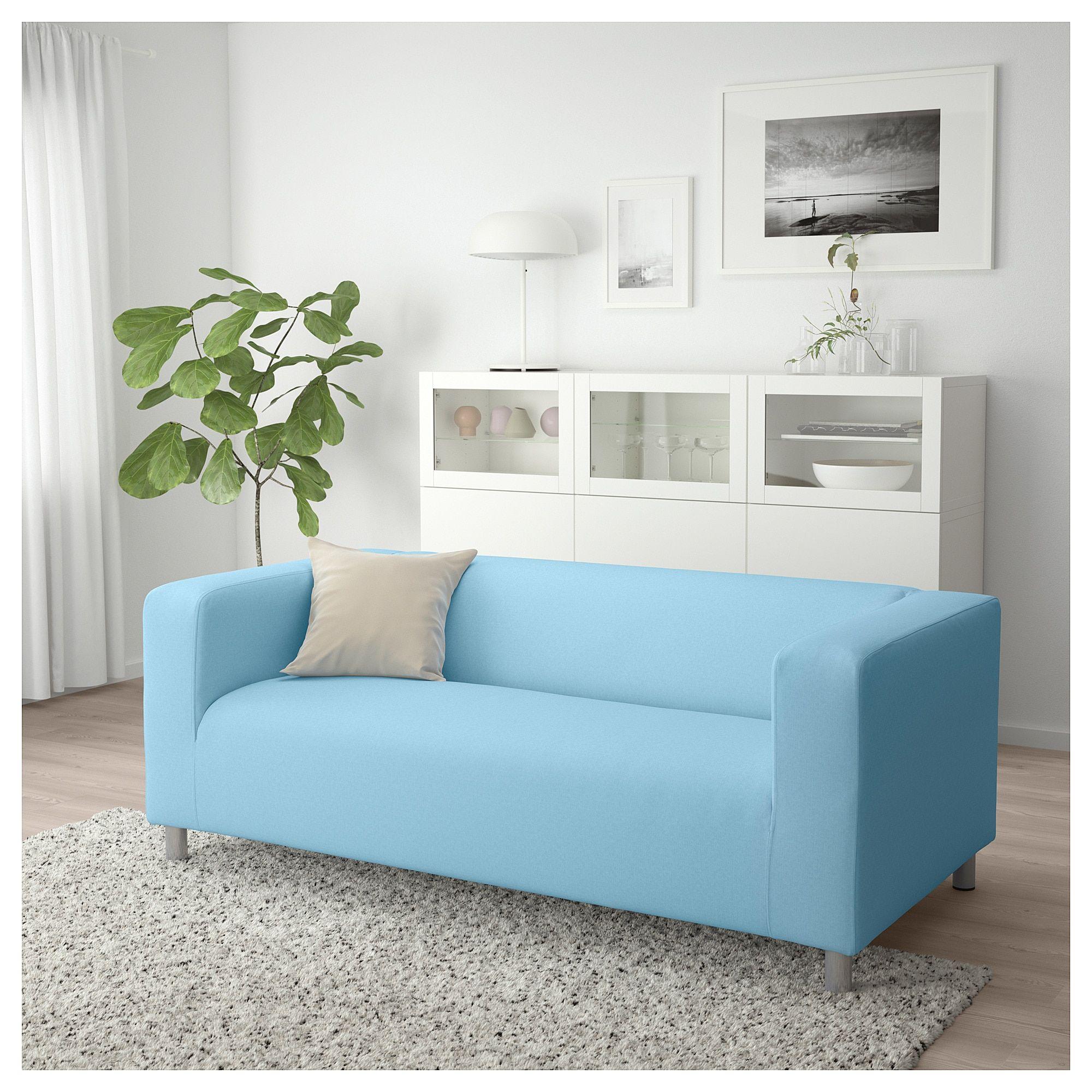 Ikea Klippan Loveseat Vissle Light
