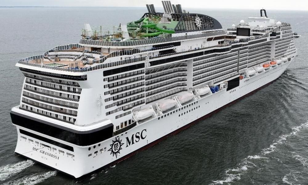 Msc Cruises Resumes Scheduled Sailings In The Mediterranean From January 24 With Msc Grandiosa In 2021 Msc Cruises Cruise Cruise Companies