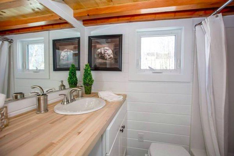 A modern open 24footer from global tiny houses tiny