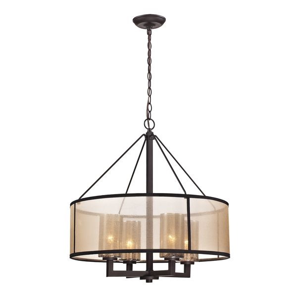 Elk Lighting Diffusion 4 Light Oil Rubbed Bronze Chandelier Ping Great Deals On Chandeliers Pendants