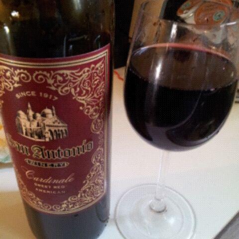 Cardinale from san antonio winery because i say so for Wine painting san antonio