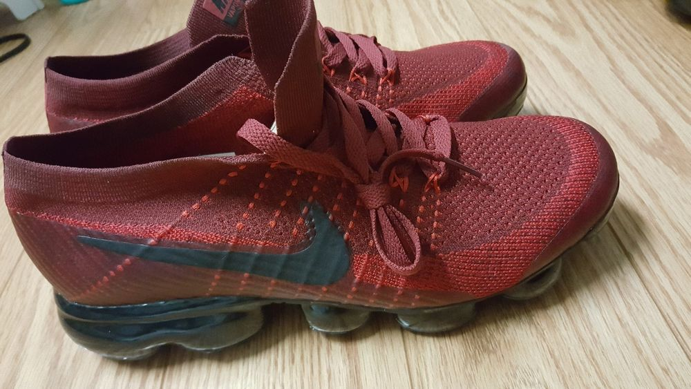 d5df7da2bdb7 New Men s Nike Air Vapormax Flyknit Dark Team Red and University Black Sz.  9.5  fashion  clothing  shoes  accessories  mensshoes  athleticshoes (ebay  link)