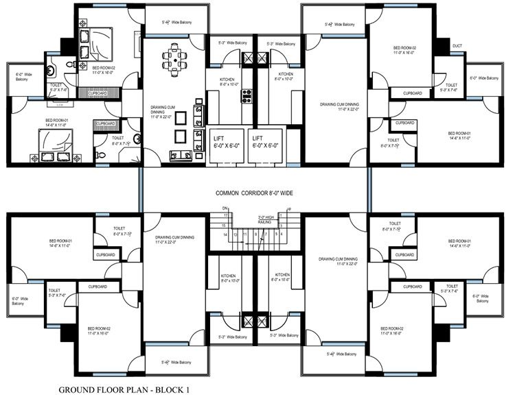Apartment Building Architectural Plans building flat plans - google search | housing | pinterest