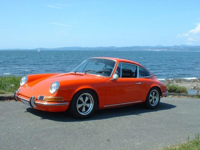 Cool Orange Porsche