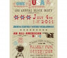 4th of july block party invitation wording 4th of july pinterest 4th of july block party invitation wording stopboris Gallery