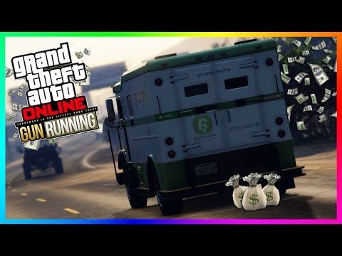 Awesome gta online gunrunning armored super cars new gta 5 gta online best ways to make money to prepare for gunrunning dlc becoming a millionaire ccuart Choice Image