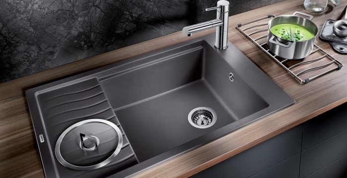 Blanco Kitchen Sinks Uk Slate grey sink adds an elegant touch to any kitchen nestkitchens slate grey sink adds an elegant touch to any kitchen nestkitchens workwithnaturefo