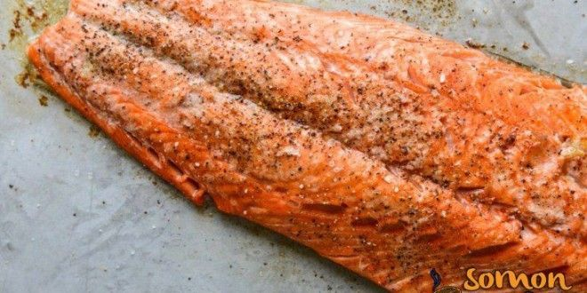 Photo of Baked Salmon with Butter and Garlic