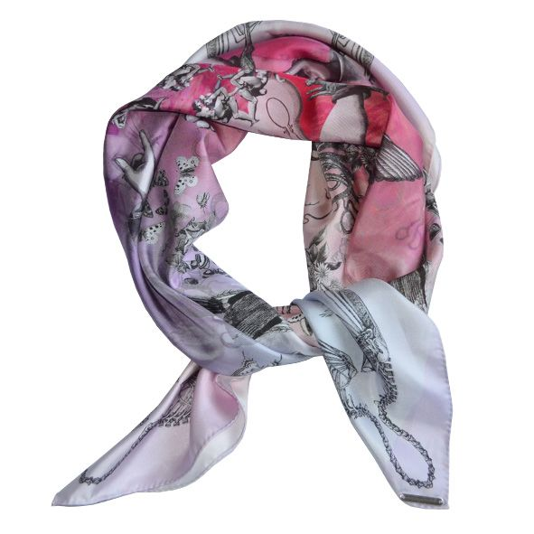 A boudoir philosophy, scarf from Antagoniste