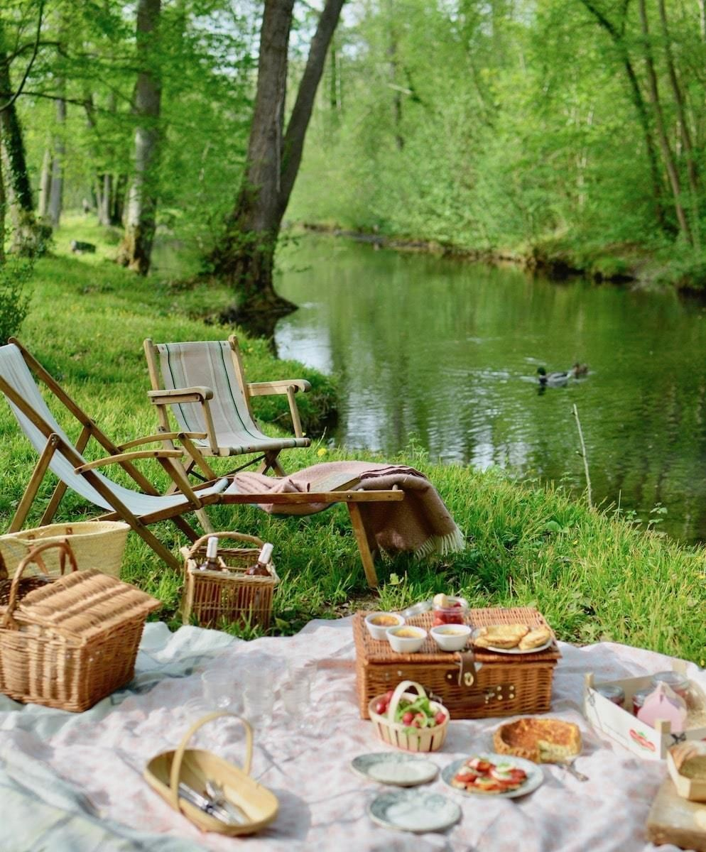 the humble joys of a picnic - MY FRENCH COUNTRY HOME -