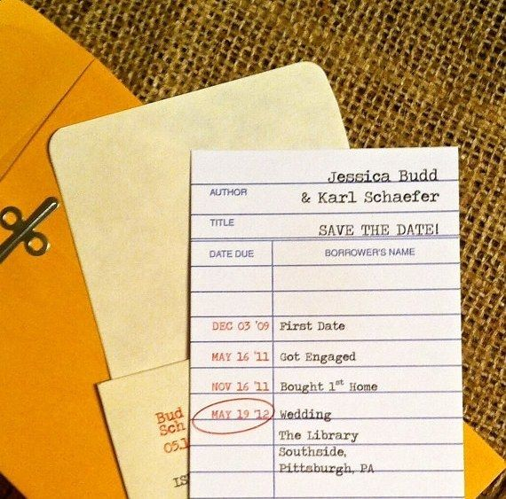 Set The Tone With Library Themed Invites Literary Wedding Book Themed Wedding Wedding Book
