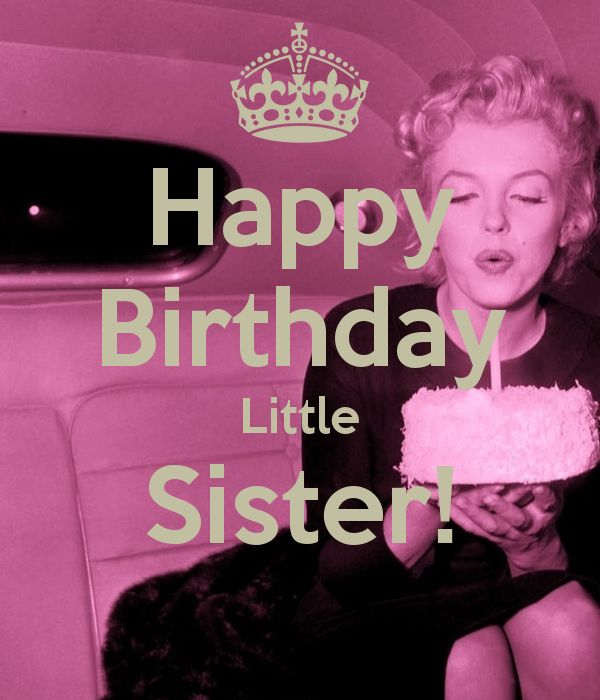 Happy birthday little sister | Memes | Pinterest | Happy ...