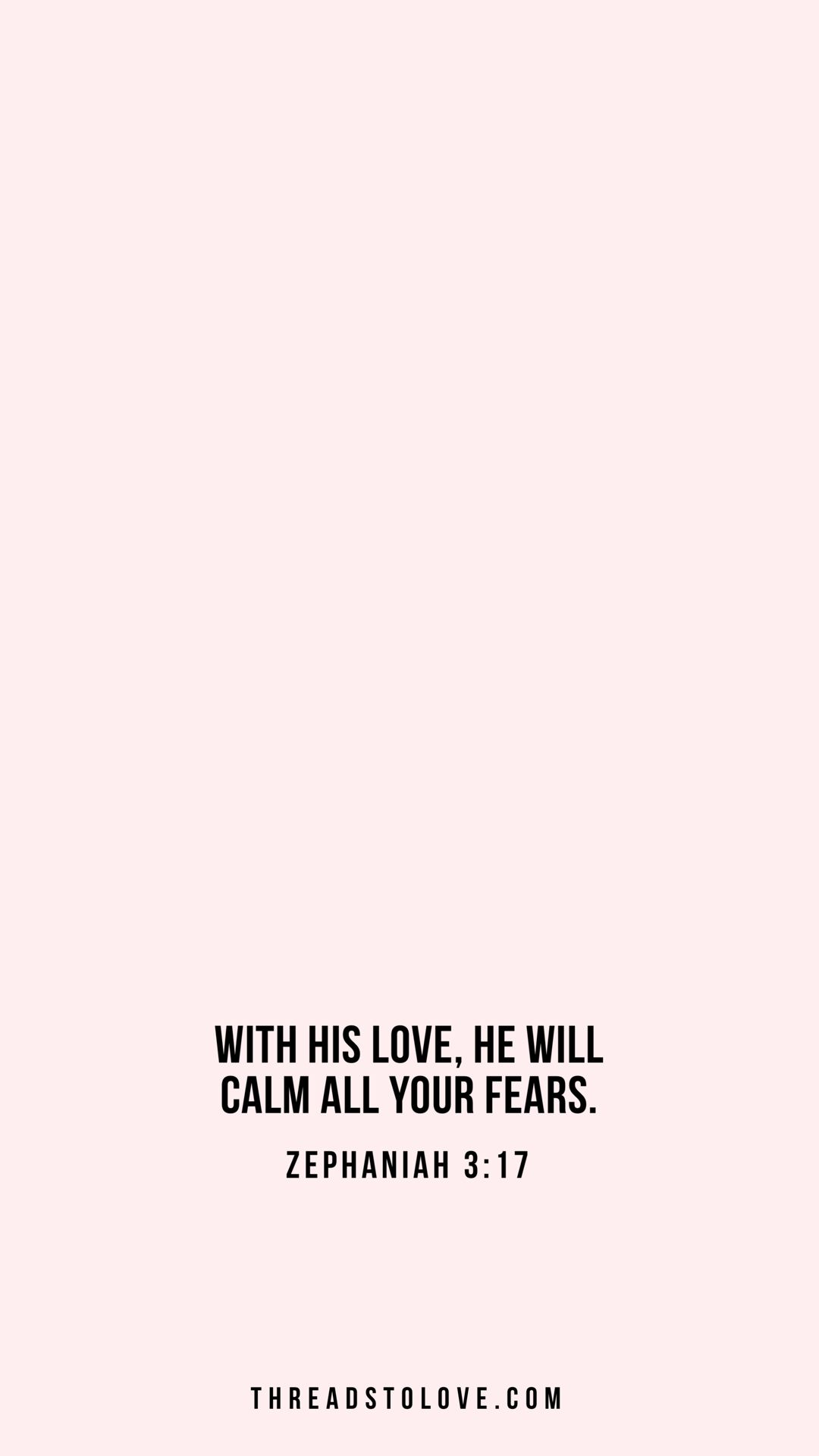 He Will Calm All Your Fears