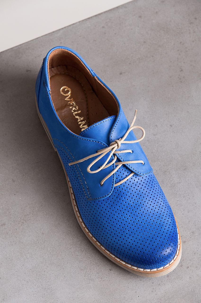 Women's Overland Perforated Leather