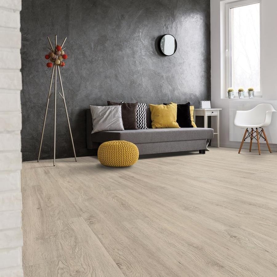 SMARTCORE 12Piece 5in x 48.03in Cottage Oak Luxury