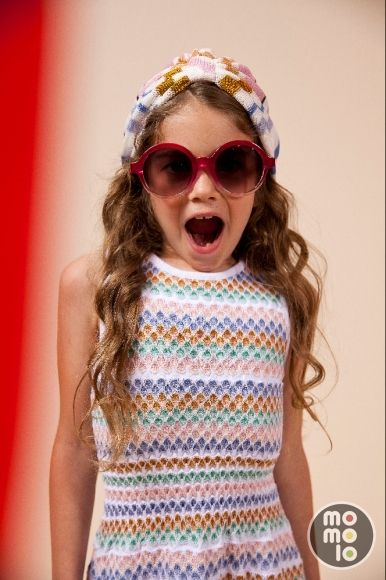www.momolo.com Look de MISSONI    MOMOLO Street Style Kids :: La primera red social de Moda Infantil #kids #dress #modainfantil #fashionkids #kidsfashion #childrensfashion #childrens #ninos #kids #streetstylebaby #ropaninos #kidsfashion #ss15 #streetstylekids #kidswear #baby #modaniños