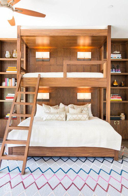 Modern Wooden Bunk Bed Design Lifestyle La Adult Bunk Beds