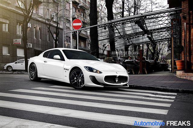 Maserati GranTurismo | go fast | Pinterest | Maserati granturismo ...