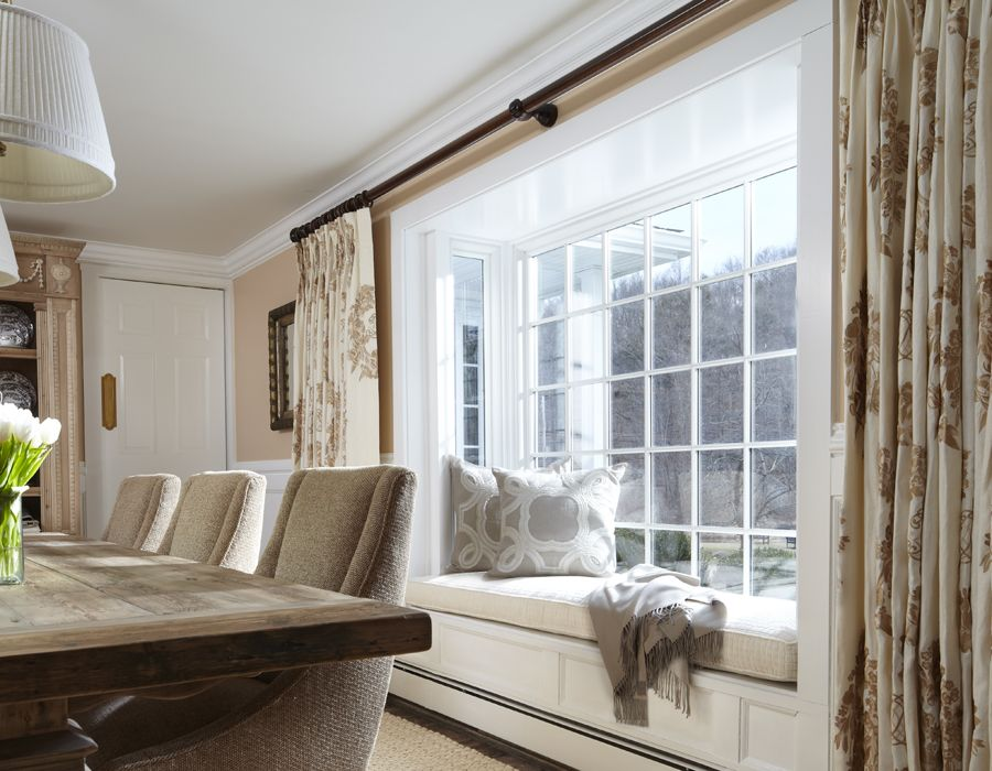 How To Dress A Square Bay Window Google Search Bedroom Window Seat Bay Window Seat Bedroom Window Dressing