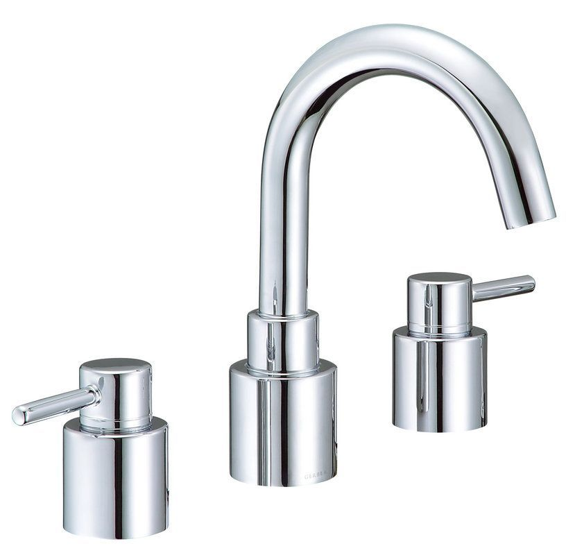 Gerber G8-302 Wicker Park Deck Mounted Roman Tub Faucet Trim with ...