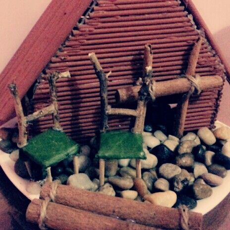 Just fininshed my first fairies house... ^O^
