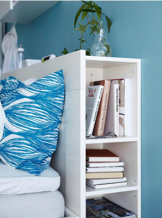 Cabecero con almacenaje cabeceros cama pinterest for Camas con almacenaje
