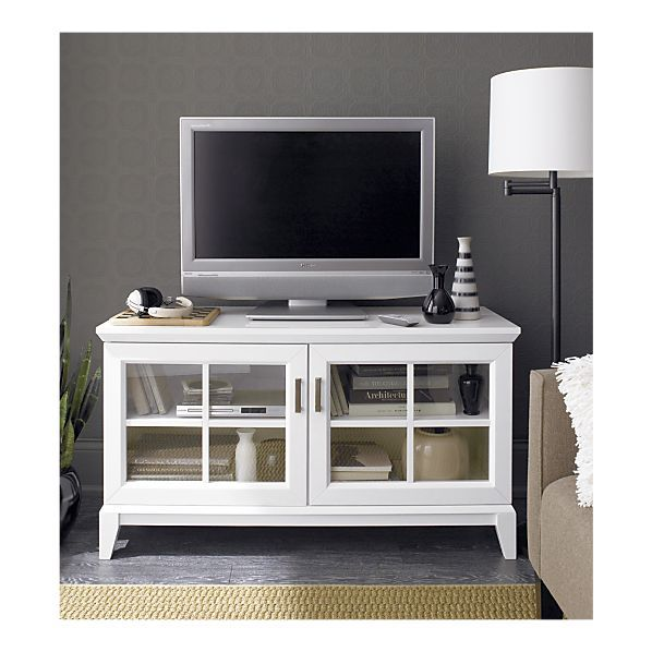 Paterson 48 Media Console From Crate And Barrel Do I Like Black