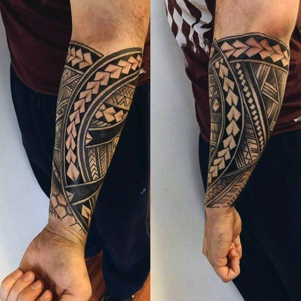 Forearm Sleeve Guys Unique Polynesian Tribal Tattoo Ideas Forearm Tattoo Men Tribal Forearm Tattoos Unique Forearm Tattoos