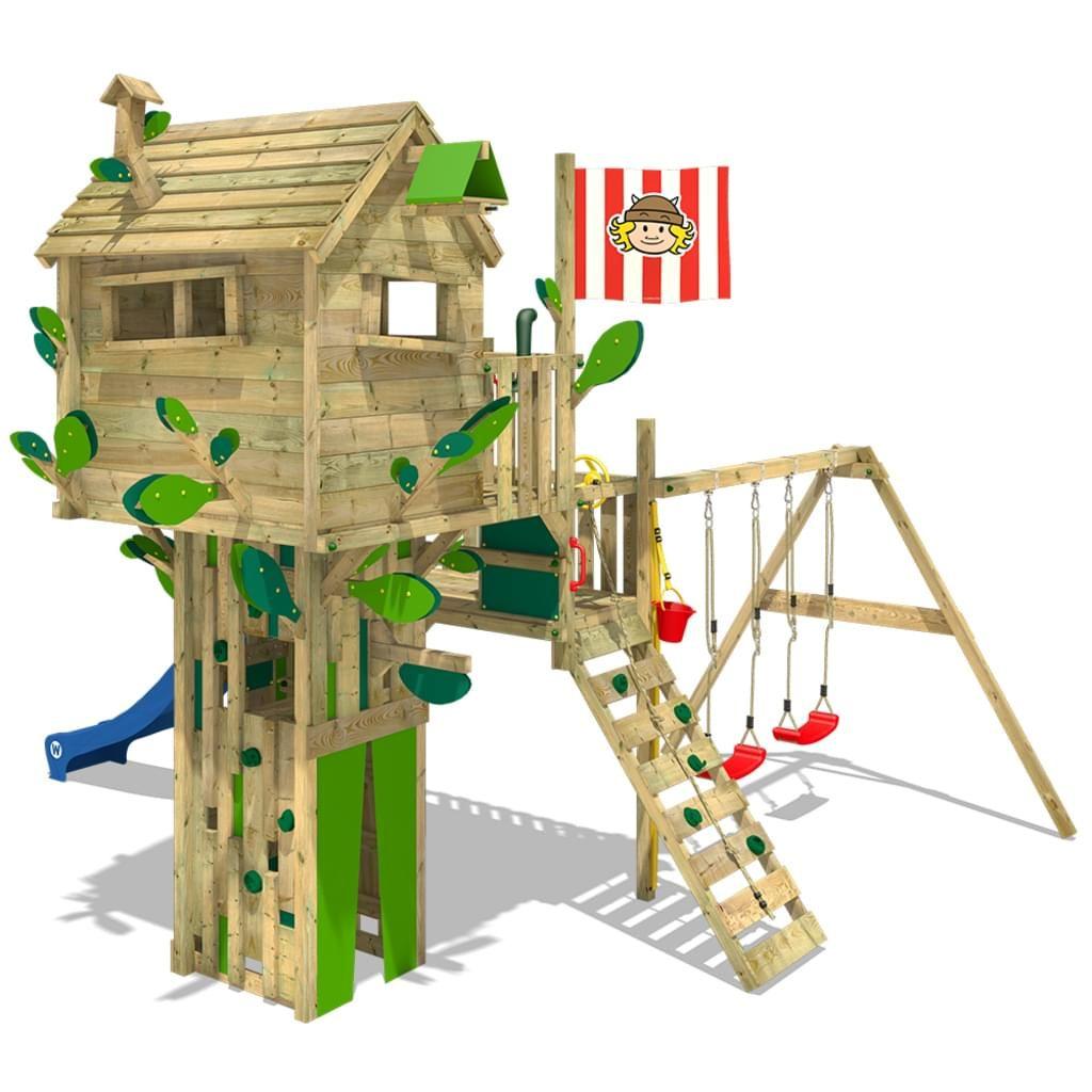 Spielturm Wickey Smart Treetop Garten Kinder Kletterturm Stelzenhaus Outdoor Garten Spielturm Kinder Baumhaus Baumhaus