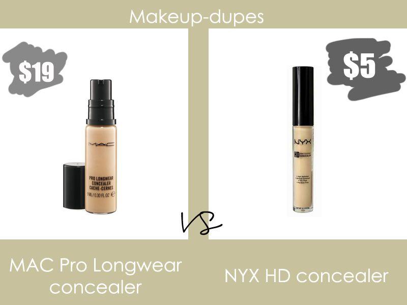 makeup dupes mac pro longwear concealer dupe i have. Black Bedroom Furniture Sets. Home Design Ideas