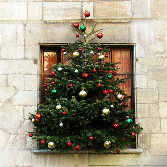 Paris Photography Christmas In Paris Fine Art Photography Christmas Tree Noel Paris Window Pari Christmas In Paris French Christmas Christmas Decorations