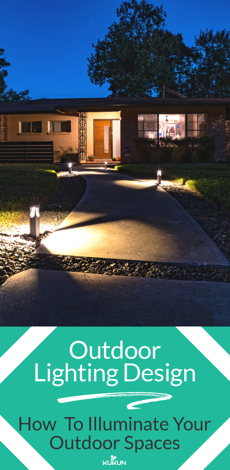 Outdoor Lighting Design How To Illuminate The Exterior Front Yard Landscaping Ideas House Lighting Outdoor Outdoor Lighting Design Exterior Design Backyard