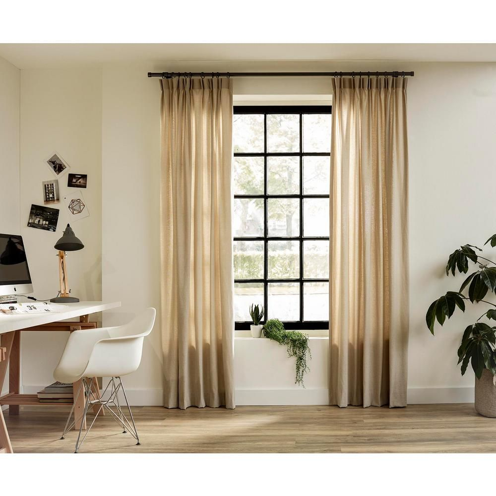Ltl Home Products 95 In Intensions Single Curtain Rod Kit In