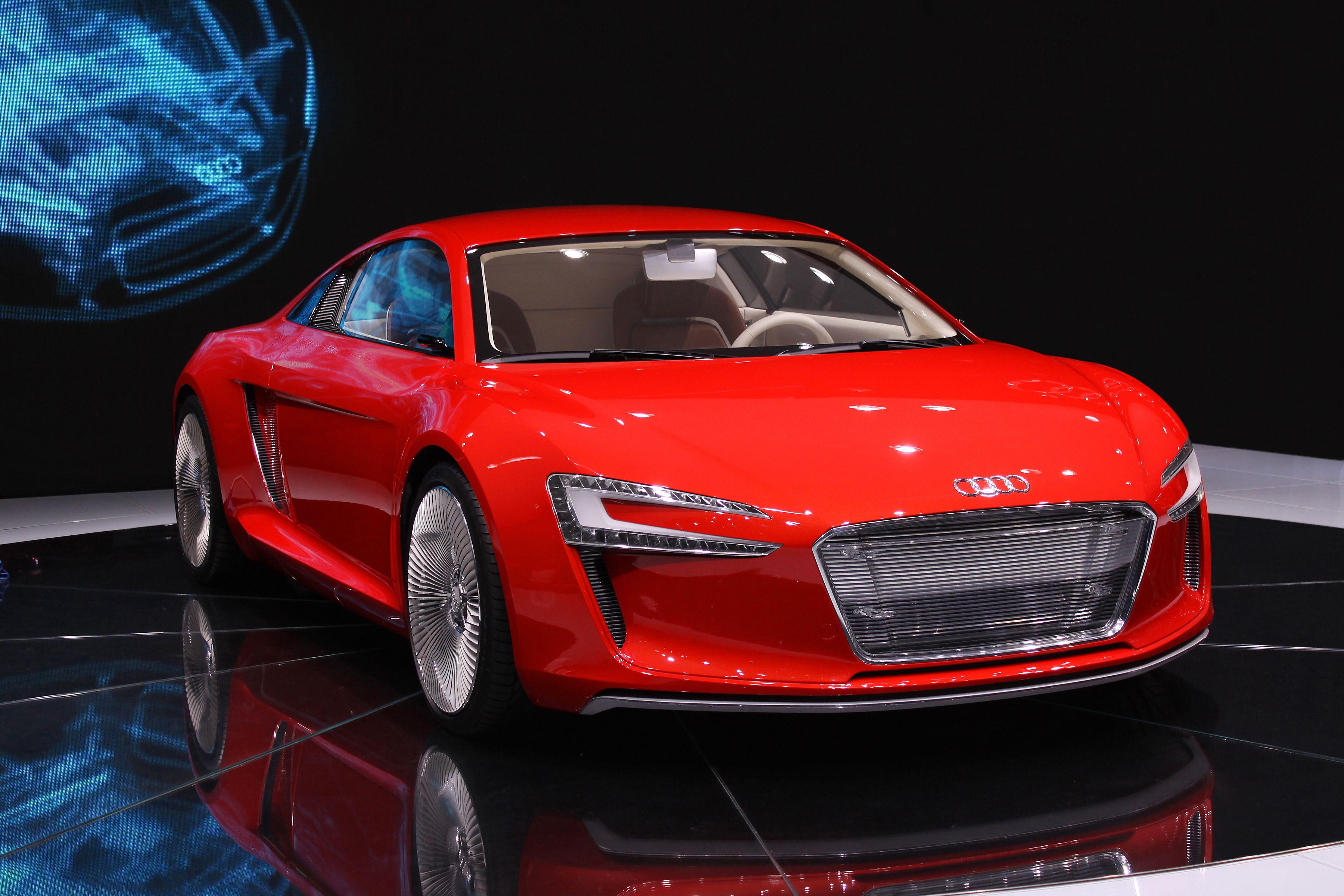 Audi A ETron Concept Technical Drawing Wallpaper ... Машины Будущего Ауди