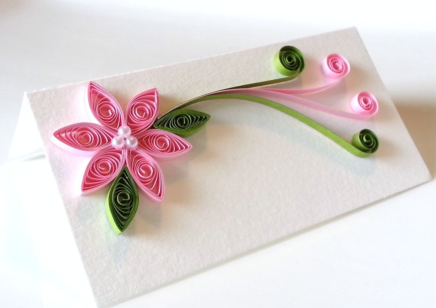 Quilling Flower- Pink