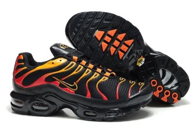 competitive price dbfe7 8d592 Fast shipping Sell 2016 nike air max tn running shoes mens,New tn chaussures  homme pas cher Black yellow flame A8813