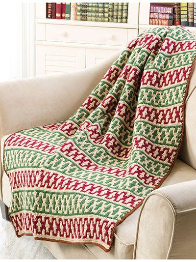 What\'s New - Traditions Mosaic Afghan - #EC04074   Afghan Crochet ...
