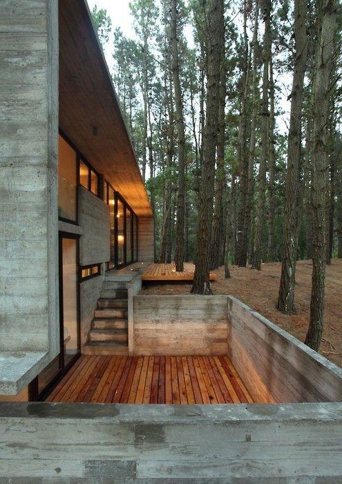 Pingl par virginie pouchard sur in a future home - Zen forest house seulement pour cette maison en bois ...